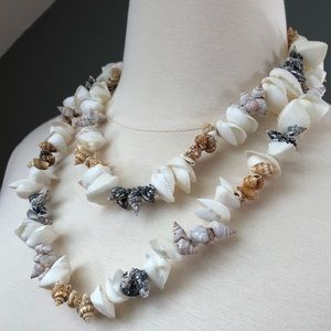 Authentic Seashell Wedding Leia
